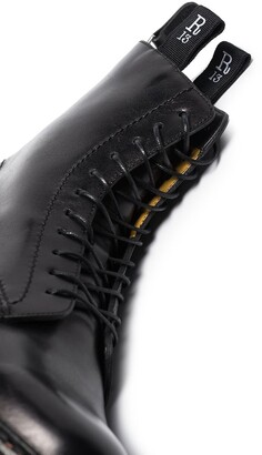 R 13 Stack 40 military boots