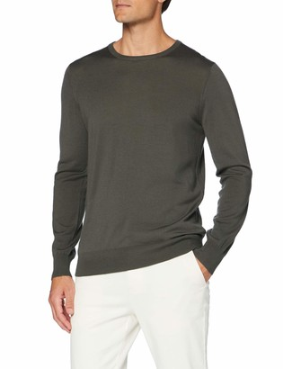 Meraki Men's Fine Merino Wool Crew Neck Jumper