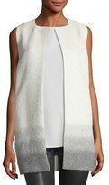 Eileen Fisher Ombre Alpaca/Wool Vest