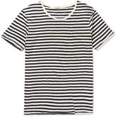 Nudie Jeans Ove Striped Slub Organic Cotton-jersey T-shirt - Off-white