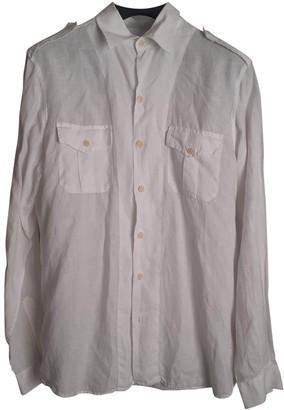 Non Signã© / Unsigned White Linen Shirts