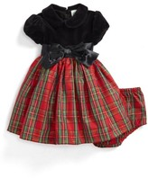 Little Me Infant Girl's Plaid Fit & Flare Dress