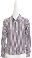 Boy. Candy Stripe Easy Shirt- GRAPE