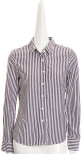 Boy Candy Stripe Easy Shirt- GRAPE