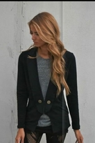 Nightcap Clothing Penny Blazer in Black