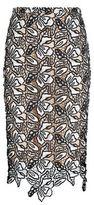 No.21 No. 21 Lace Midi Pencil Skirt
