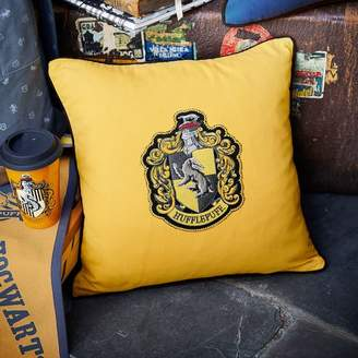 Pottery Barn Teen Harry Potter House Patch Hufflepuff Pillow Cover &amp Insert