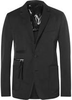 Givenchy Cuban-Fit Canvas-Trimmed Twill Blazer