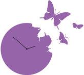 Diamantini Domeniconi Diamantini & Domeniconi Butterfly Clock Violet