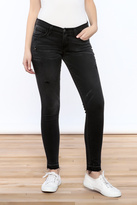 Flying Monkey Distressed Black Jean