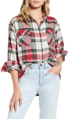 Wrangler New Boyfriend Flannel Shirt