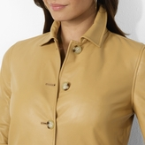 Ralph Lauren Cropped Leather Jacket