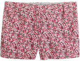 """J.Crew Liberty 3"""" chino short in Chive floral"""