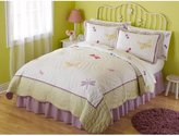 Pem America Dragonfly Butterfly Quilt Set (Twin)