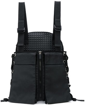 NO KA 'OI No Ka' Oi hybrid lace-up utility backpack
