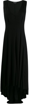 Ann Demeulemeester High-Low Crepe Dress