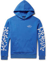 Amiri - Printed Loopback Cotton-jersey Hoodie