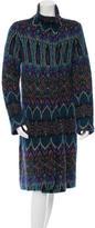 Diane von Furstenberg Pita Wool Coat