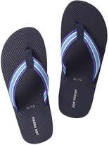Joe Fresh Kid Boys' Essential Flip Flops, Blue (Size S)