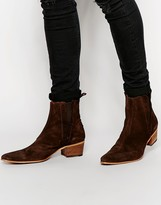 Jeffery West Suede Chelsea Boots