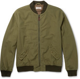 J.crew - Ma-1 Cotton Bomber Jacket