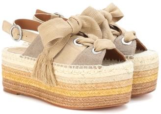 Chloã© Espadrille platform sandals