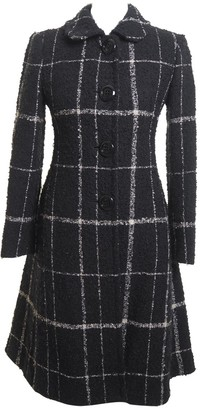 Moschino Cheap & Chic Moschino Cheap And Chic Black Wool Coat for Women Vintage