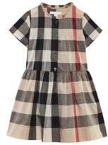 Burberry Beige Classic Check Dress