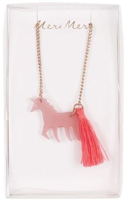 Meri Meri Unicorn Necklace