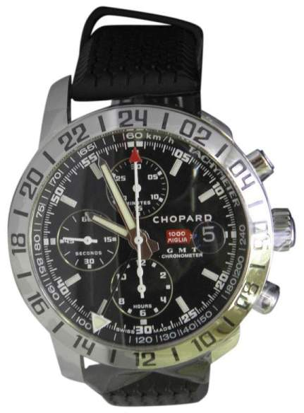 Chopard Mille Miglia 16-8992-3001 Stainless Steel & Black Rubber Automatic 45mm Men's Watch
