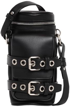 Versace Leather Crossbody Bottle Bag