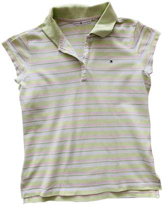 Tommy Hilfiger Green Cotton Top for Women