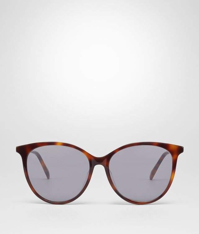 Bottega Veneta Havana Acetate Sunglasses