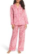 Oscar de la Renta Women's Paisley Cotton Pajamas