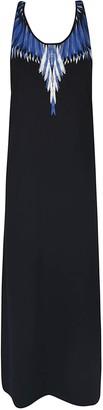 Marcelo Burlon County of Milan Wing Print Long Dress