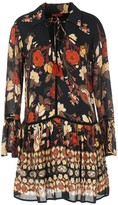 Rene Derhy Floral Dress with Pleats