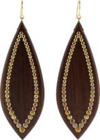Mark Davis Wood Earrings