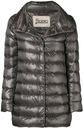 Herno Funnel-Neck Padded Coat