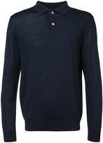 A.P.C. button collar jumper