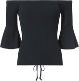Exclusive for Intermix Sasha Lace-Up Back Top