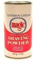 Magic Shaving Powder 133 ml Extra Strength Depilatory (3-Pack) with Free Nail File