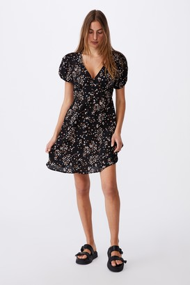 Cotton On Woven Essential Button Front Mini Dress