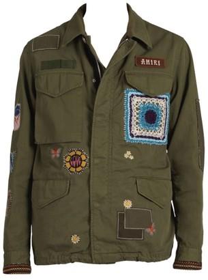 Amiri Brothers Military Cargo Jacket