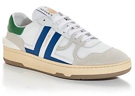 Lanvin Men's Tennis Low Top Sneakers