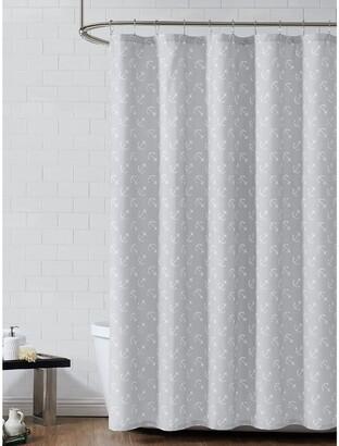 Anchor Print Shower Curtain