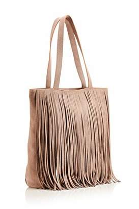 Hill & How Womens Fringed Tote Tote