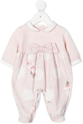 Lapin House Floral-Print Pajamas