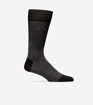 Cole Haan Pique Textured Crew Socks