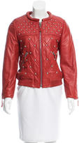 Isabel Marant Leather Embellished Jacket