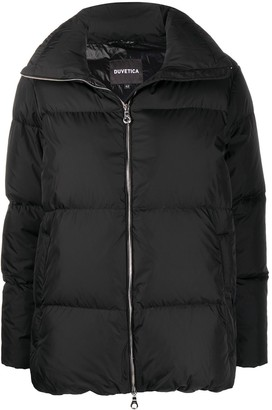 Duvetica Mimosa high-neck down jacket